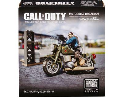 Megabloks Micro Call of Duty útok - Motorbike Breakout