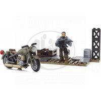Megabloks Micro Call of Duty útok - Motorbike Breakout 3