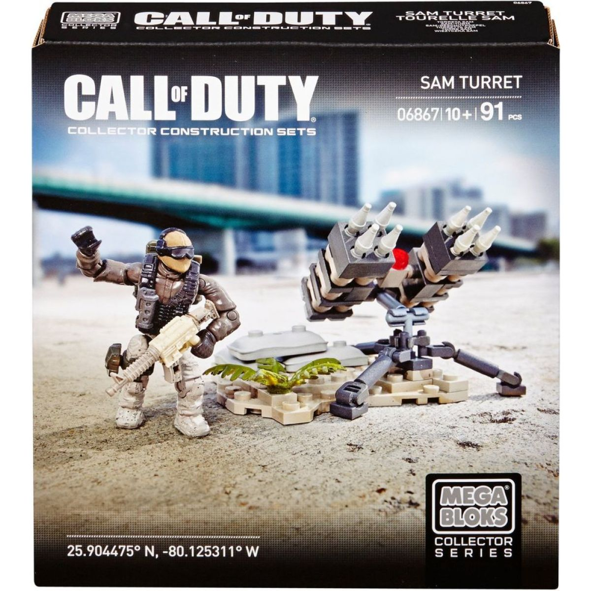 Megabloks Micro Call of Duty útok - Sam Turret