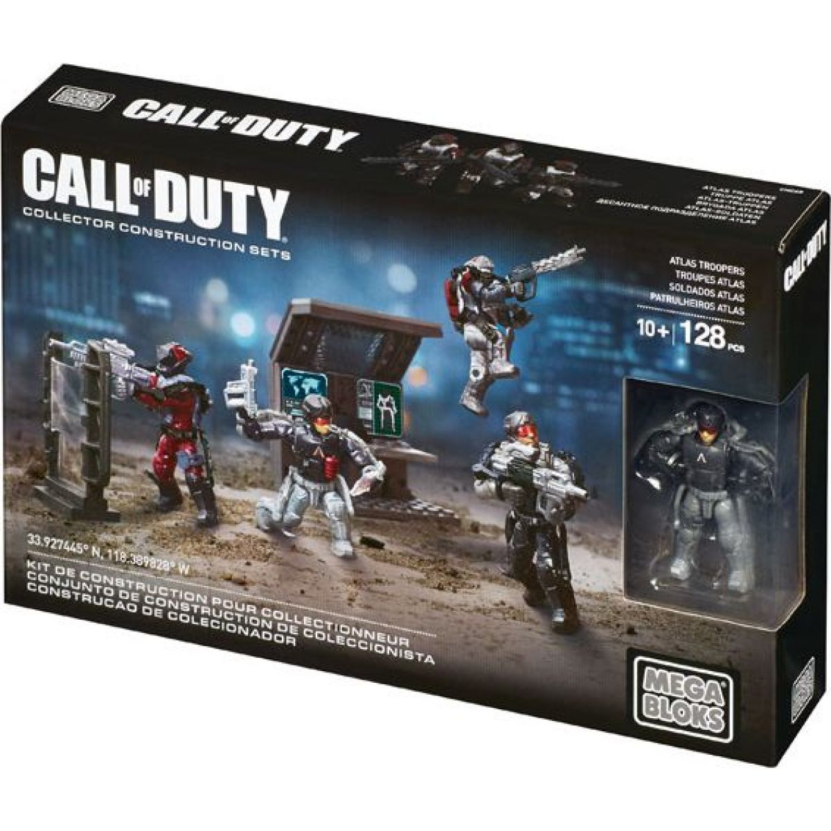 Megabloks Micro Call of Duty Útočný oddíl - Atlas Troopers