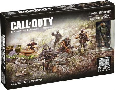 Megabloks Micro Call of Duty Útočný oddíl - Jungle Troopers