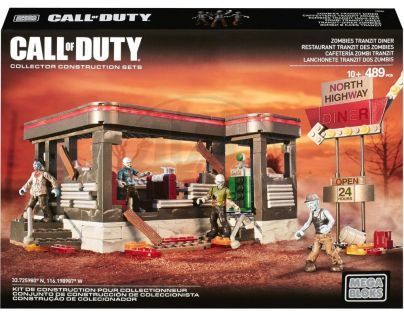 Megabloks Micro Call of Duty zombie bistro