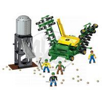 MEGABLOKS 80842 - Micro - John Deere - Velký agroset - secí stroj 2