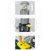 MEGABLOKS 80842 - Micro - John Deere - Velký agroset - secí stroj 5