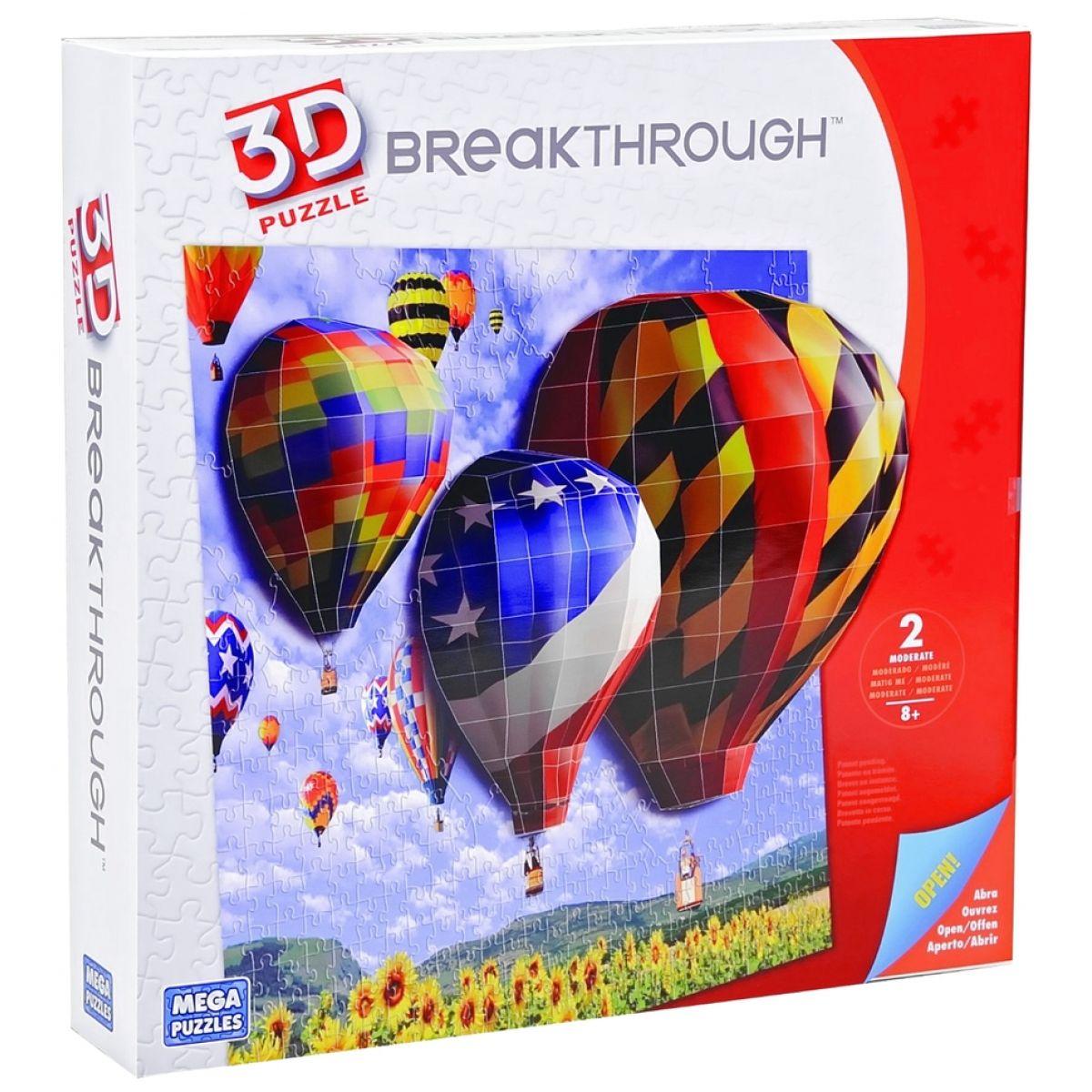 Megabloks Puzzle 3D Balóny
