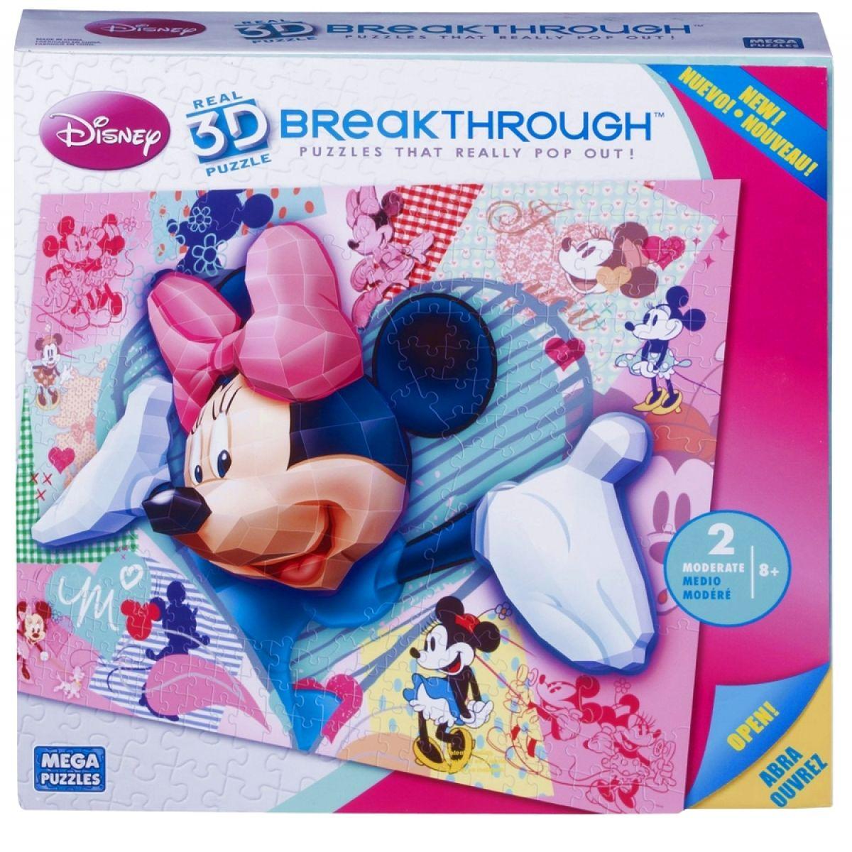 Megabloks Puzzle 3D Disney Minnie