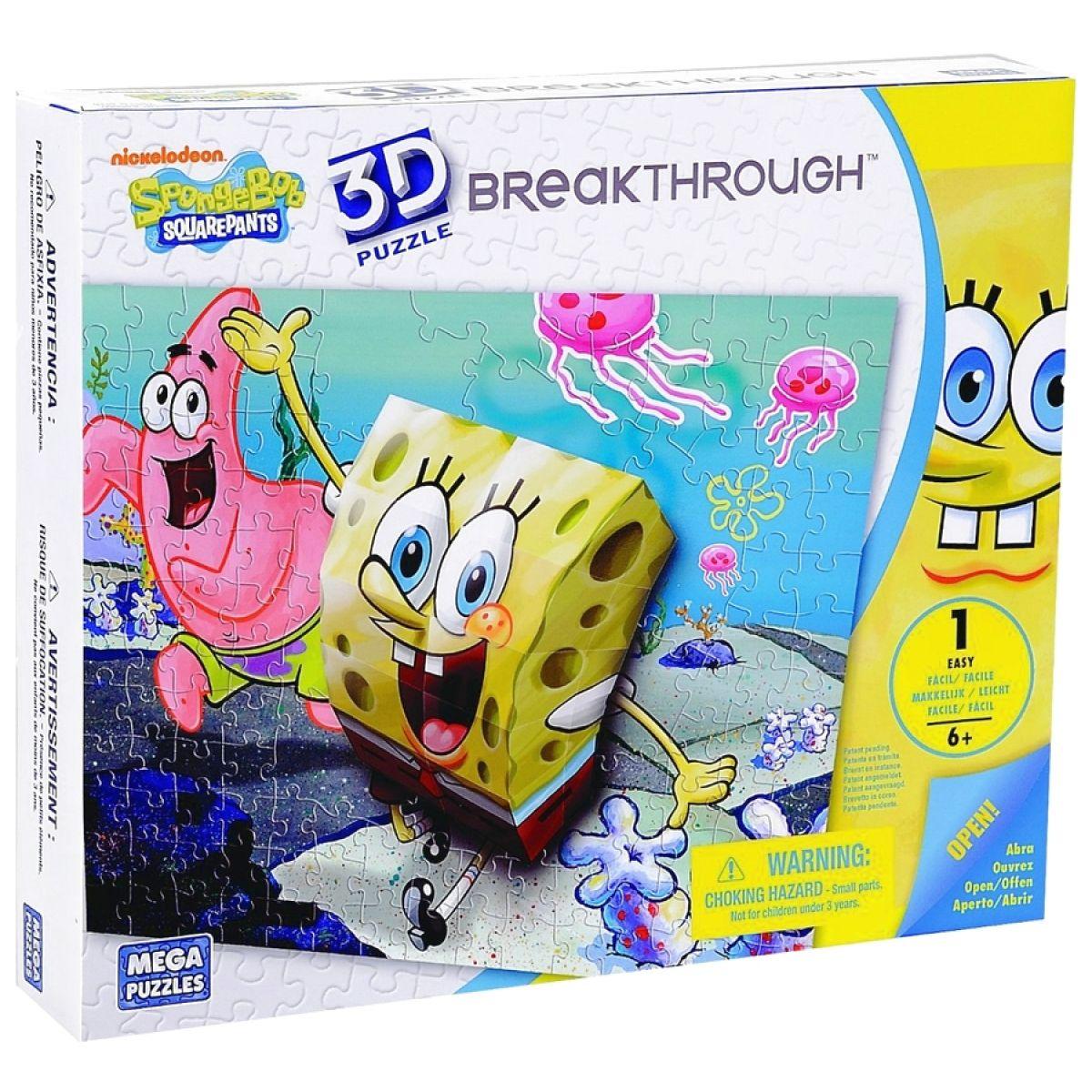 Megabloks Puzzle 3D Sponge Bob