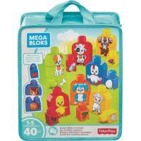 Mega Bloks First Builders kostky Sestav si zvířátka
