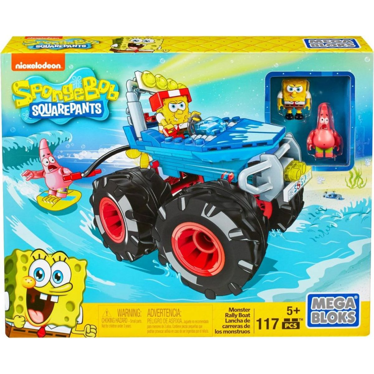 MegaBloks SpongeBob Monster Rally Boat