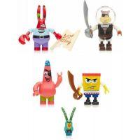 MegaBloks SpongeBob Střední set - Pirate Figure Set 3