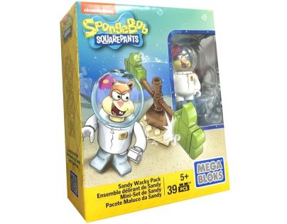 MegaBloks SpongeBob Základní set - Sandy Wacky Pack CNP23