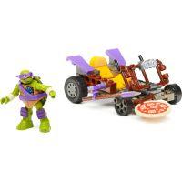 MegaBloks Želvy Ninja Závodníci - Donnie Pizza Buggy 2
