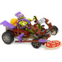 MegaBloks Želvy Ninja Závodníci - Donnie Pizza Buggy 3