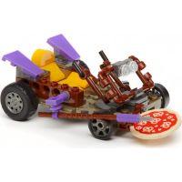 MegaBloks Želvy Ninja Závodníci - Donnie Pizza Buggy 4