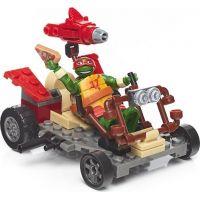 MegaBloks Želvy Ninja Závodníci - Raph Pizza Speeder 3
