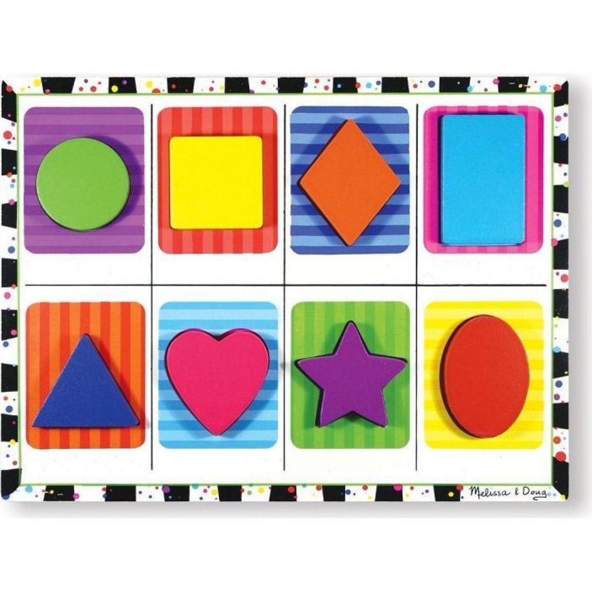 Melissa & Doug Puzzle tvary