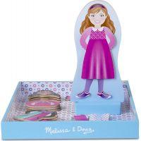 Melissa & Doug Magnetické oblékání Panenka