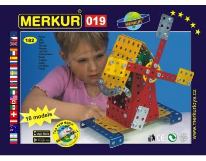 Stavebnice Merkur M 019 Mlýn