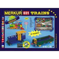 Stavebnice Merkur M 031 Železniční modely