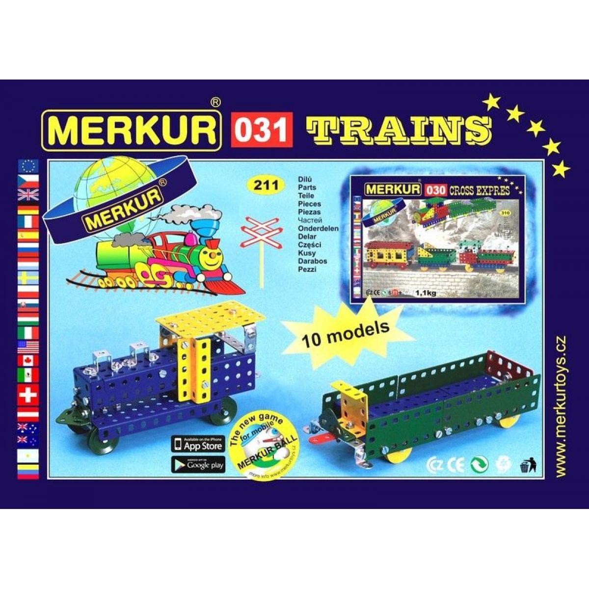 Merkur 031 Železniční modely