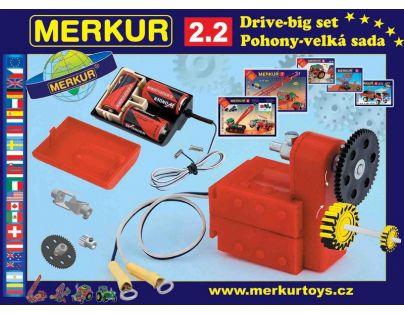 Stavebnice Merkur M 2.2 Pohony a převody