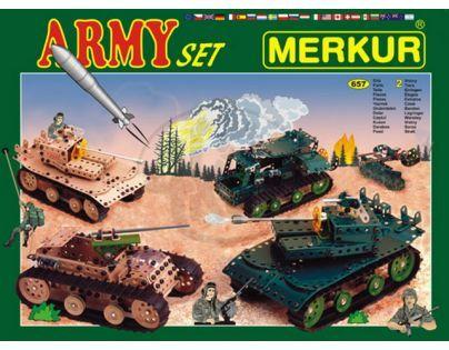 Stavebnice Merkur Army set