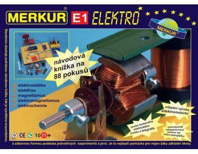 Stavebnice Merkur E1 elektřina, magnetizmus