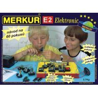 Stavebnice Merkur E2 electronic