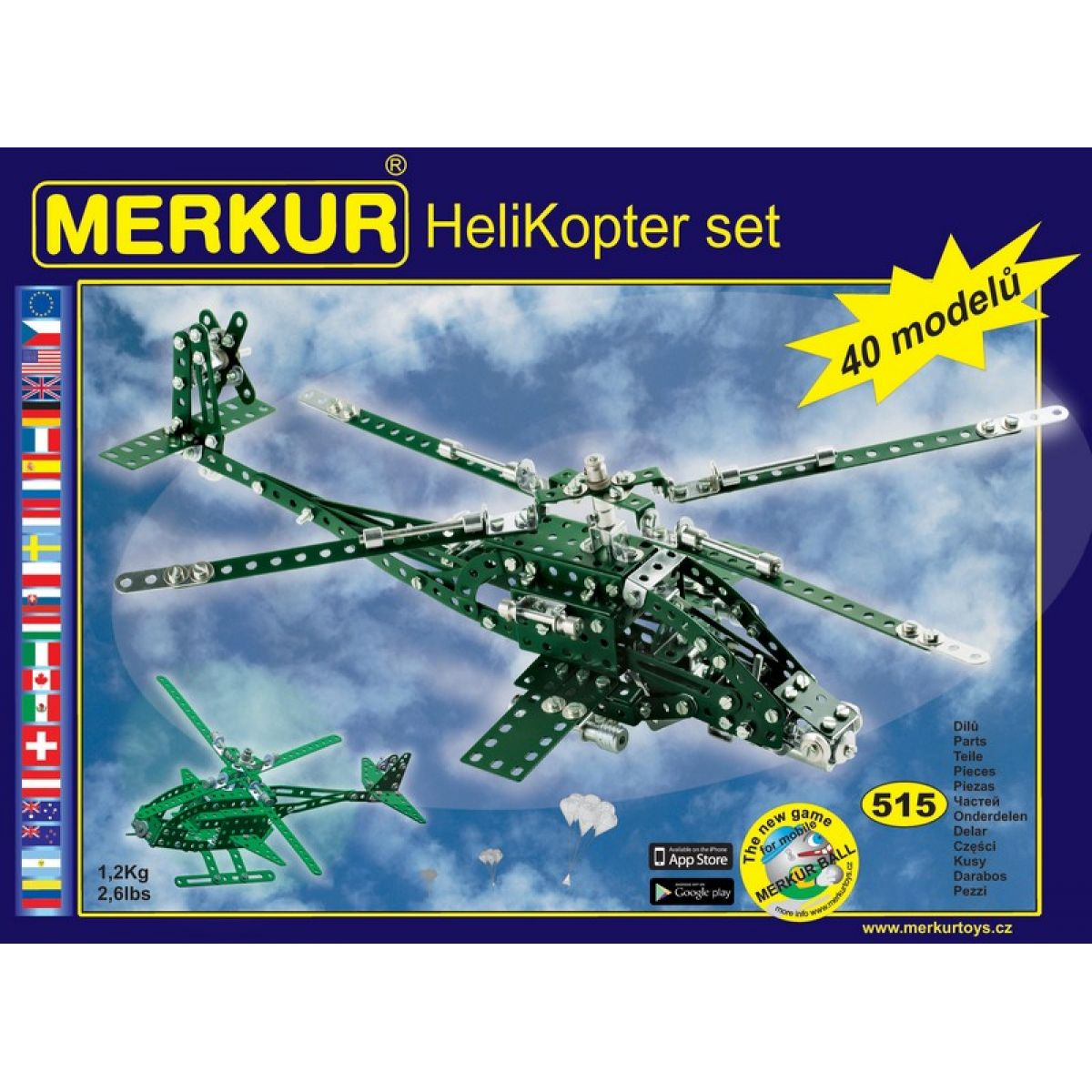 Merkur Helikopter set