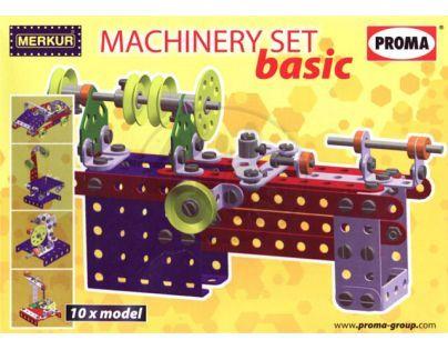 Stavebnice Merkur Machinery Set basic M40001