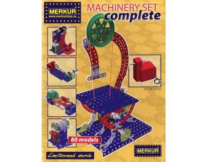 Stavebnice Merkur Machinery Set complete M40002