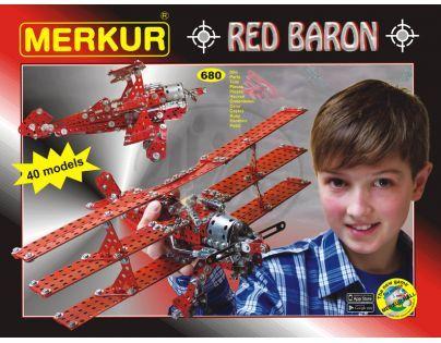 Stavebnice Merkur Red baron