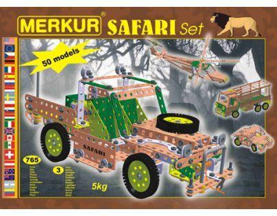 Stavebnice Merkur Safari set