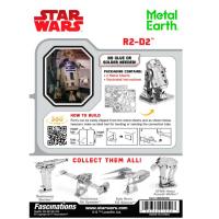 Metal Earth Star Wars R2-D2 5