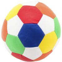 Míč fotbalový barevný měkký průměr 15 cm