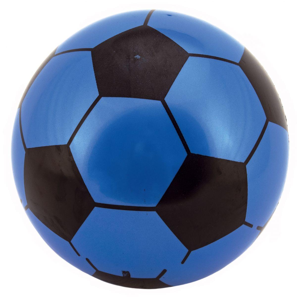 Míč Super Tele gumový 23 cm modrý