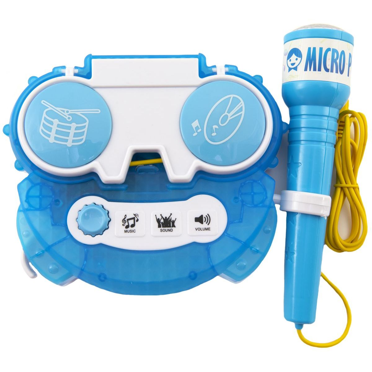 Mikrofon karaoke modrý 0581
