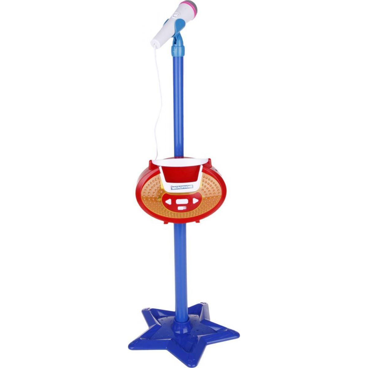Made Mikrofon se stojanem - Modrá