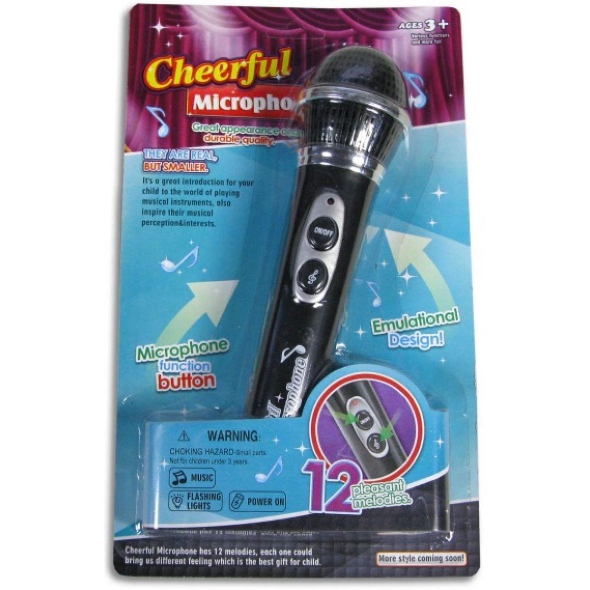 Made Mikrofon se světlem a hudbou
