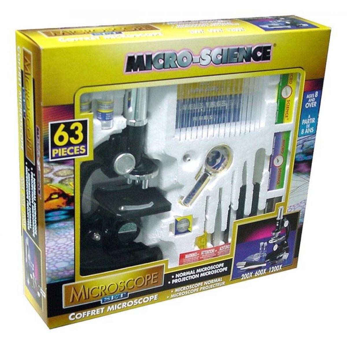 Mikroskop 63 dílů