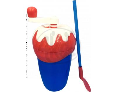 Milkshake Maker Výroba mléčného koktejlu - Červeno-modrá