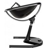 Mima Židlička Moon 2G chrom černá s opěrkou nohou 3