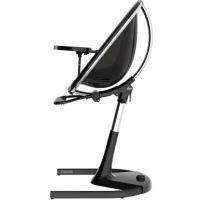 Mima Židlička Moon 2G chrom černá s opěrkou nohou 4