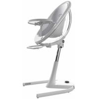 Mima Židlička Moon 2G chrom průhledná + opěrka nohou