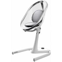 Mima Židlička Moon 2G chrom průhledná + opěrka nohou 2