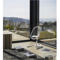 Mima Židlička Moon 2G chrom průhledná + opěrka nohou 6