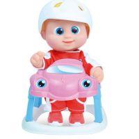 Alltoys Miminko Bouncin Babies v autíčku Baniel