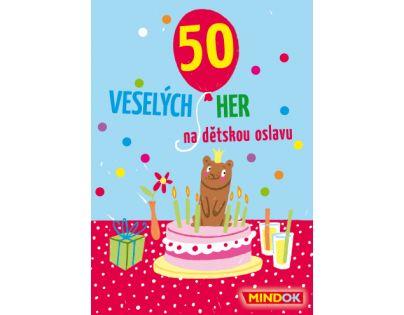 MindOK 50 Veselých her na dětskou oslavu