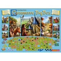 Mindok Carcassonne Bg Box Základní hra + 11 rozšíření