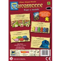 Mindok Carcassonne 2. rozšíření Kupci a stavitelé 2